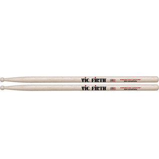 Vic Firth American Custom SD1 General Drum Sticks, Wood Tip