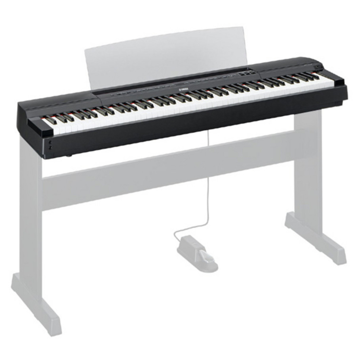 Yamaha p series p 255 lightweight digital piano black at for Yamaha digital piano dealers