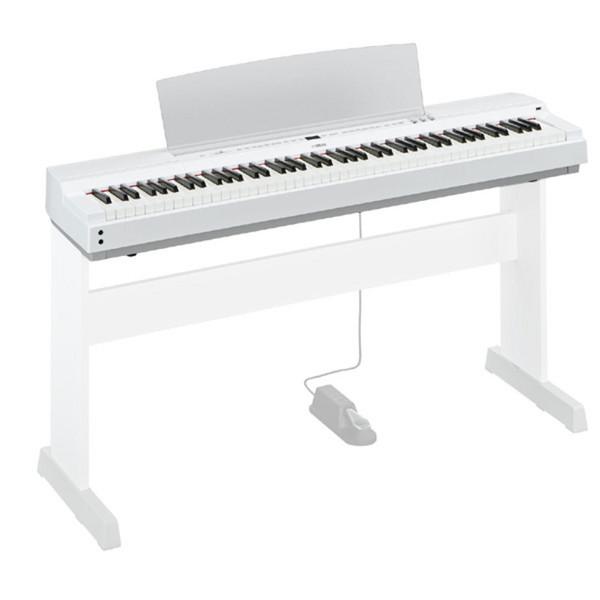 Yamaha P-Series P-255 Lightweight Digital Piano, White