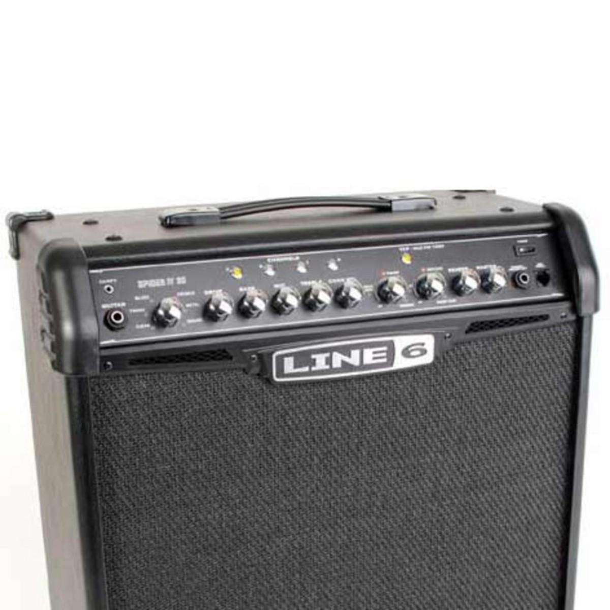 Line 6 spider iv 30 combo amplificatore per chitarra for Piani di combo bagno e armadio combo