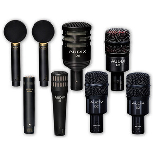 Audix Studio Elite 8 8-piece Studio Microphone Package