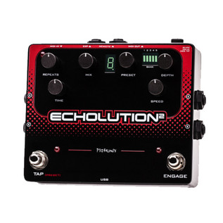 Pigtronix Echolution 2 Programmable Modulation Delay Pedal