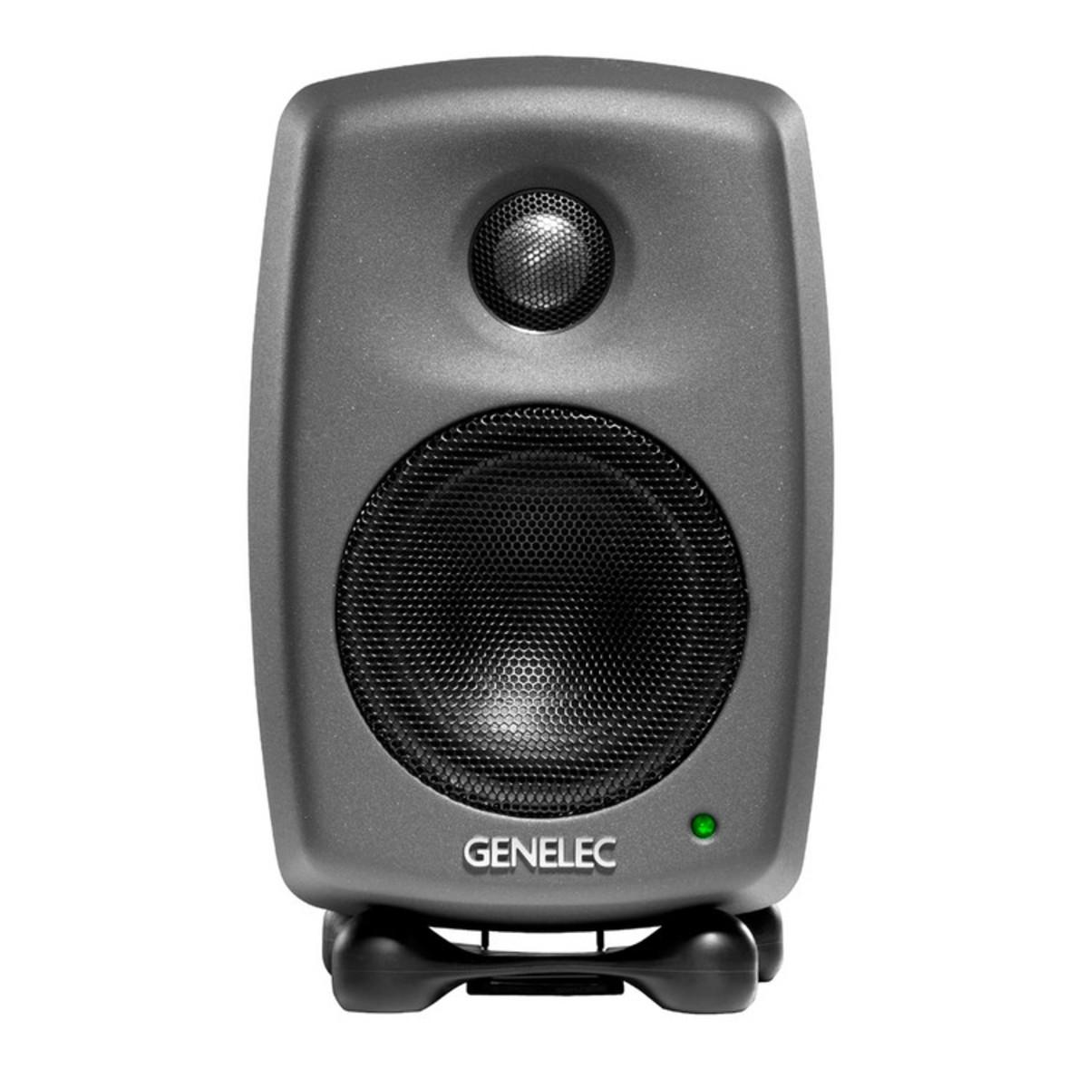 Image of Genelec 8010A Studio Monitor Dark Grey Single