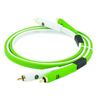 Neo Oyaide d+ RCA Class B 1M Cable Green