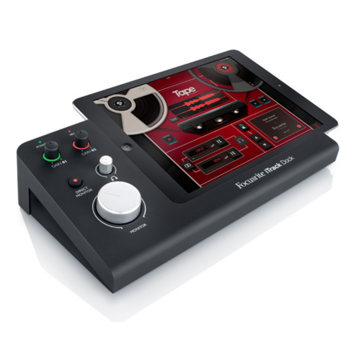 Image of Focusrite iTrack Dock iPad Recording Interface