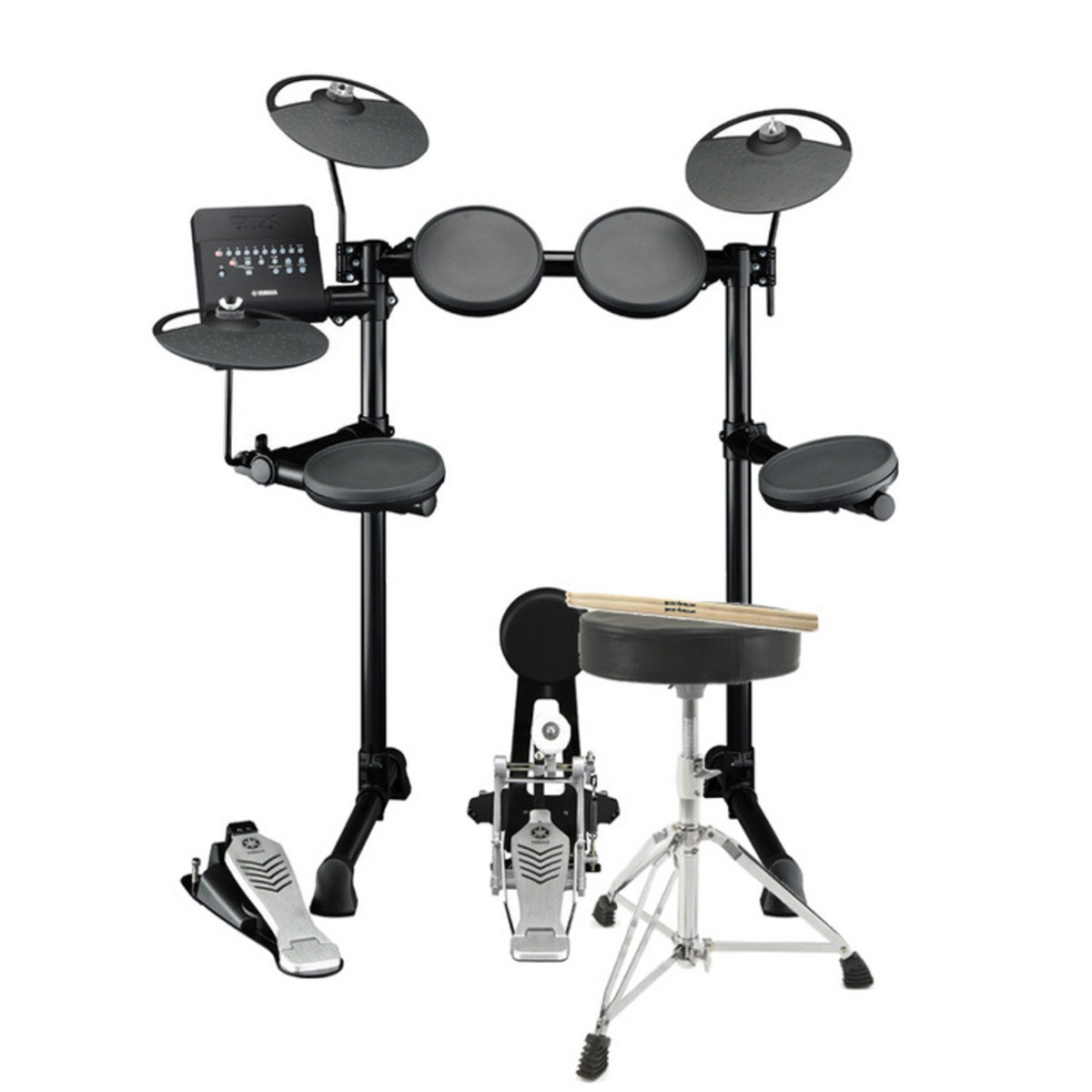 Yamaha dtx430k electronic drum kit including stool and for Yamaha electronic drum kit for sale