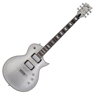 ESP LTD EC-1000 Electric Guitar, Silver Sparkle