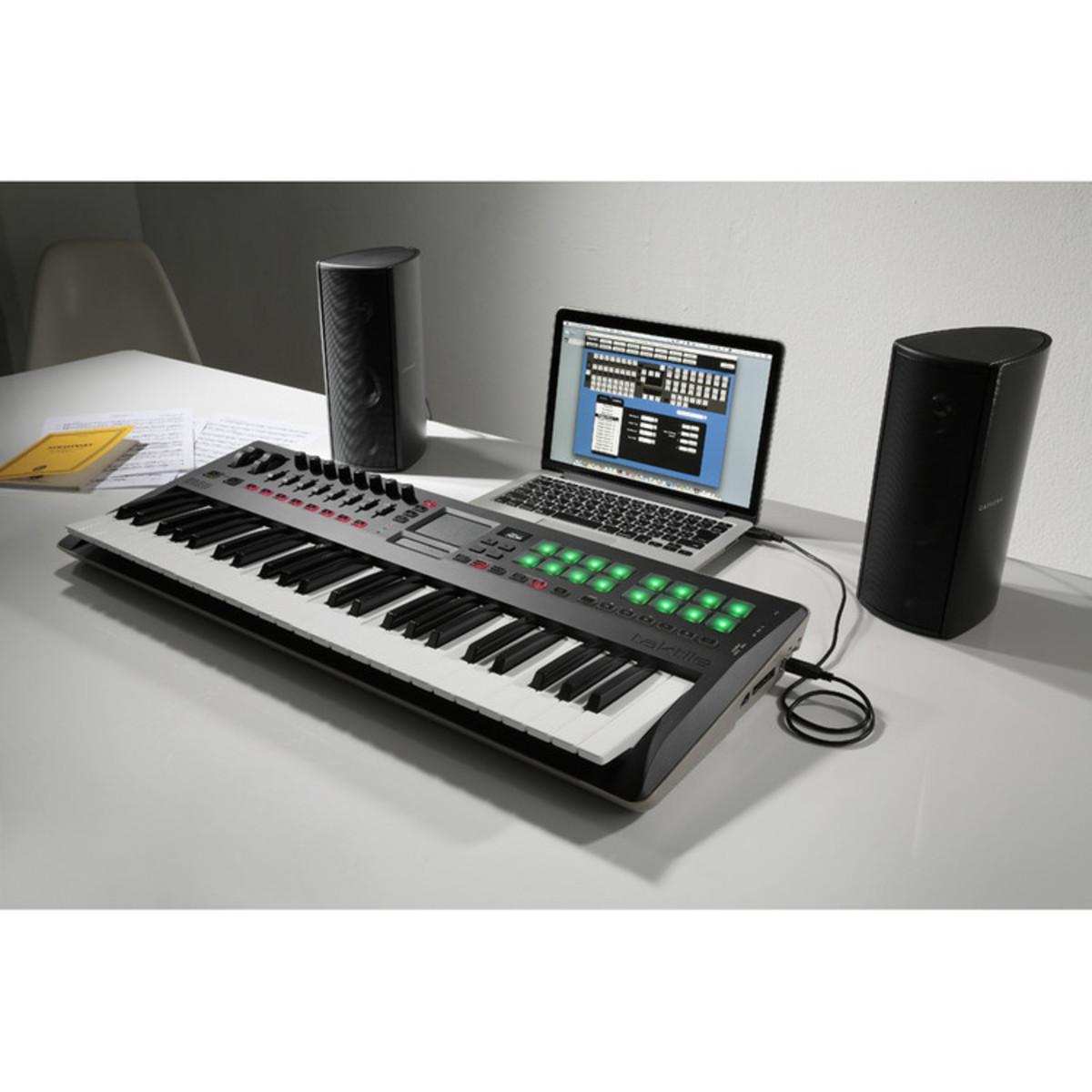 korg taktile 49 49 key usb midi controller keyboard at. Black Bedroom Furniture Sets. Home Design Ideas