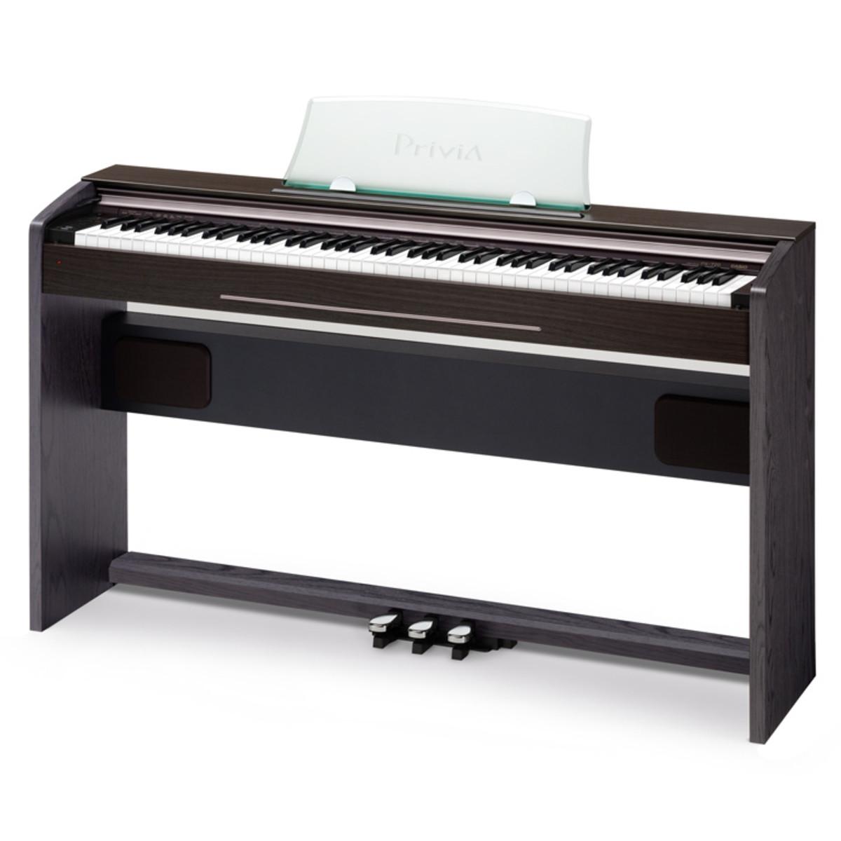 casio privia px 720 digital piano walnut at. Black Bedroom Furniture Sets. Home Design Ideas