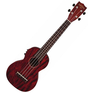 Grestch G9110-L Concert Long-Neck Electro Acoustic Ukulele with Bag