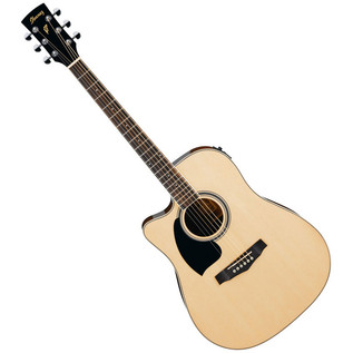 Ibanez PF15LECE-NT Left Handed Acoustic Guitar, Natural