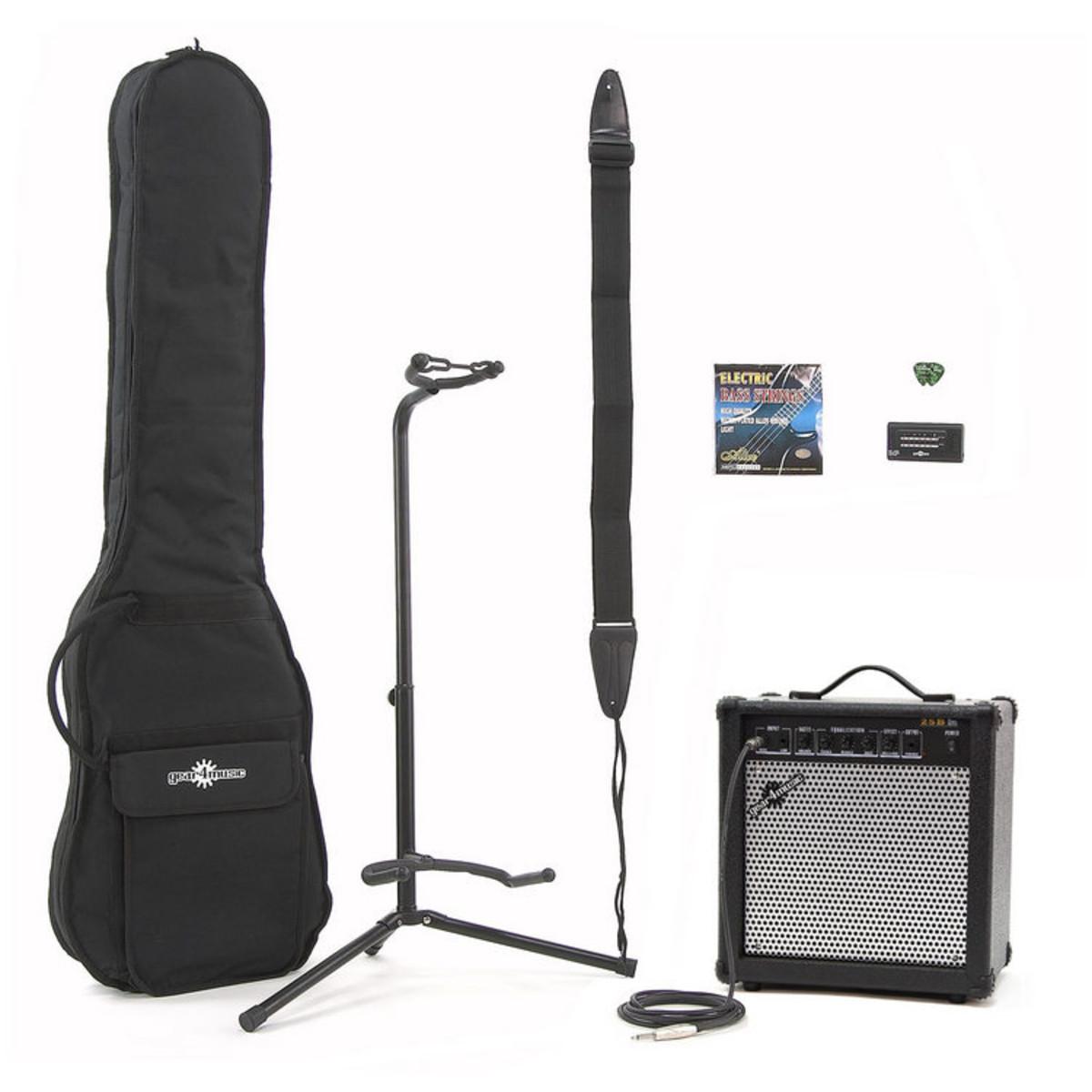 Image of 25 Watt Bass Amp & Accessory Pack