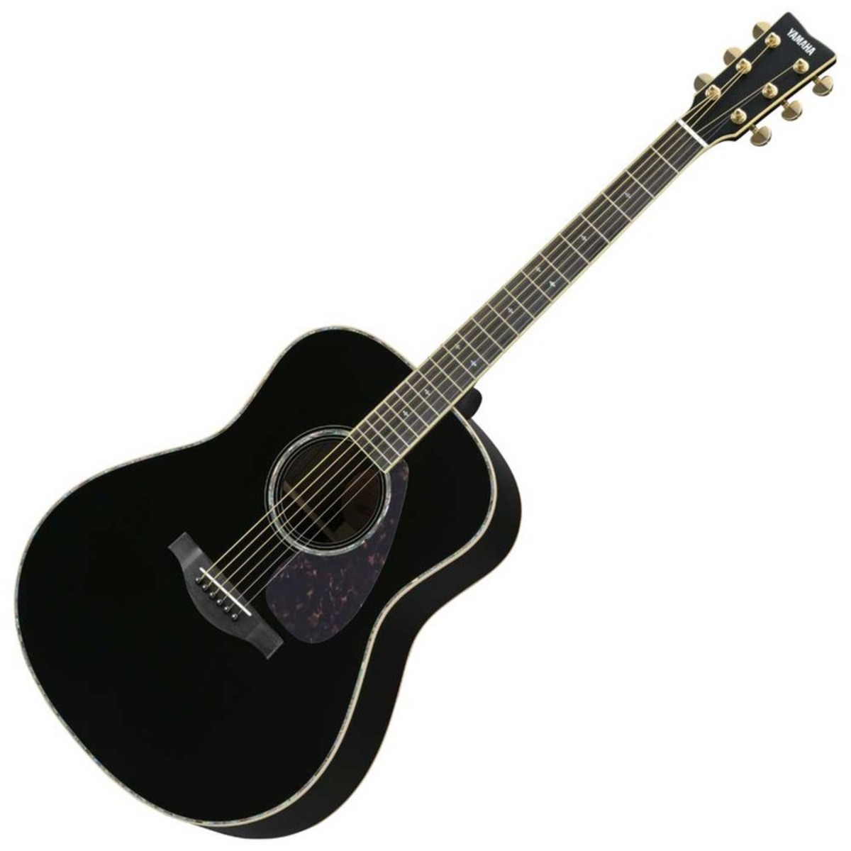 yamaha ll16are acoustic guitar black at