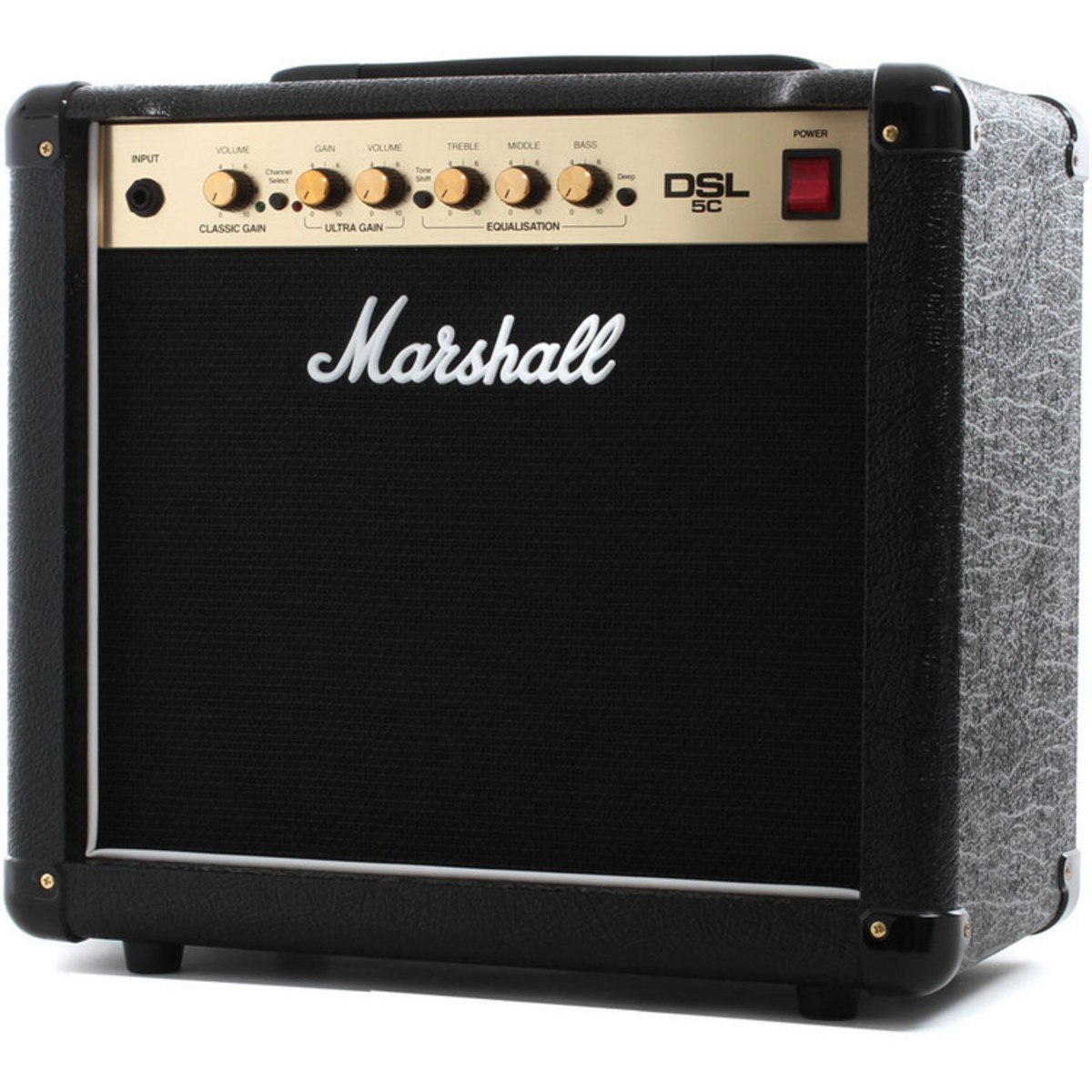 marshall dsl5c valve 2 channel 1x10in guitar combo amp at. Black Bedroom Furniture Sets. Home Design Ideas