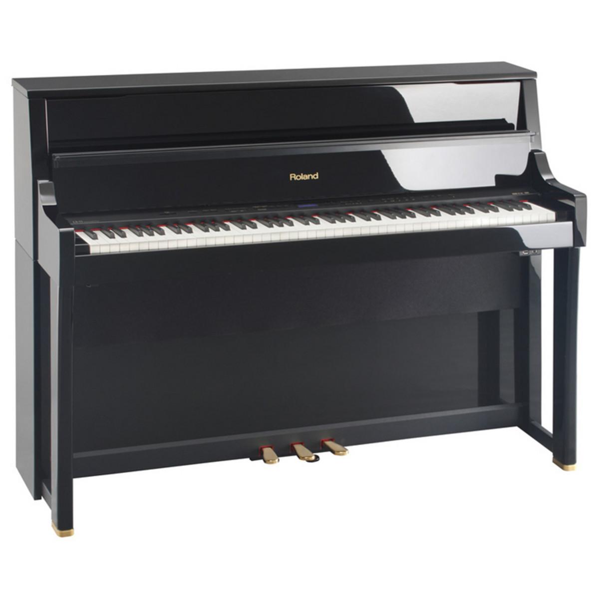 roland lx 15 pianos vertical bano pulido ex demo en. Black Bedroom Furniture Sets. Home Design Ideas