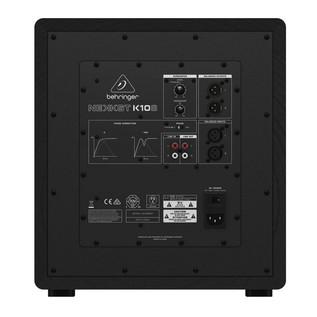 Behringer NEKKST K10S Audiophile 10 Inch Studio Subwoofer