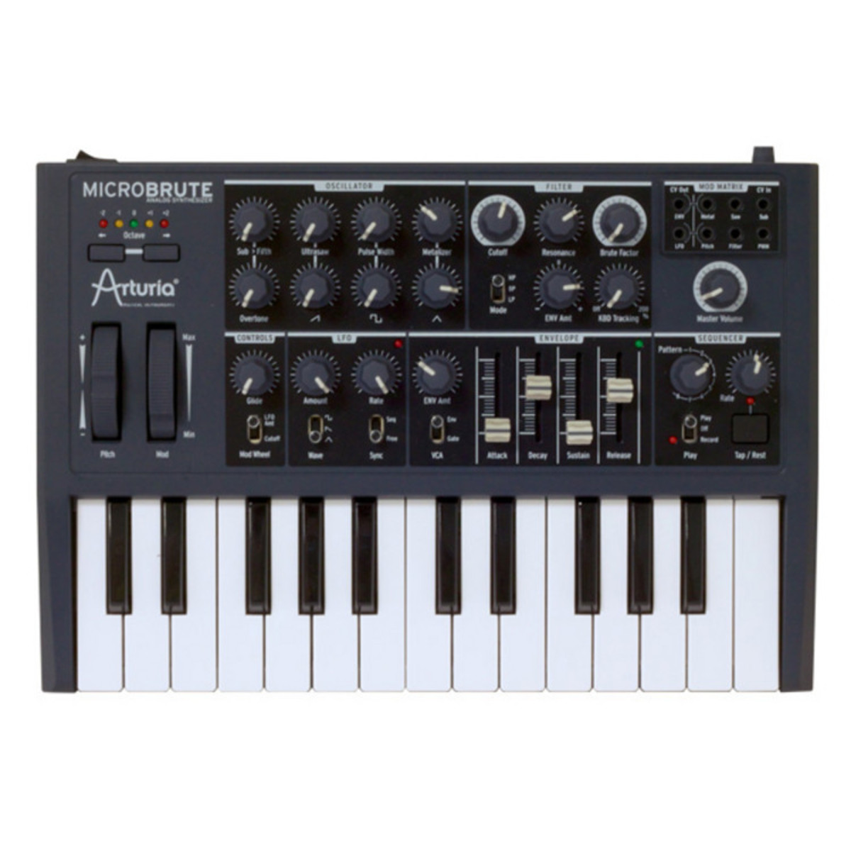 arturia microbrute semi modular analog synth ex demo at. Black Bedroom Furniture Sets. Home Design Ideas