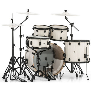Mapex Mars 529 Rock 22in Shell Pack, Bonewood