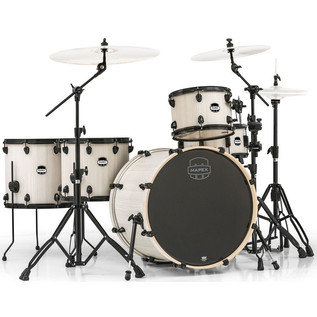 Mapex Mars 528 Crossover Retro Fusion 22in Shell Pack, Bonewood