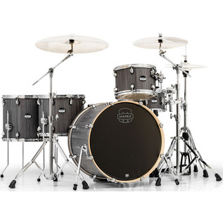 Mapex Mars 528 Crossover Retro Fusion 22in Shell Pack, Smokewood
