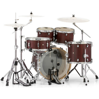 Mapex Mars 504 Fusion 20in Shell Pack, Bloodwood
