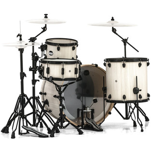 Mapex Mars 446 Rock 24in Shell Pack, Bonewood
