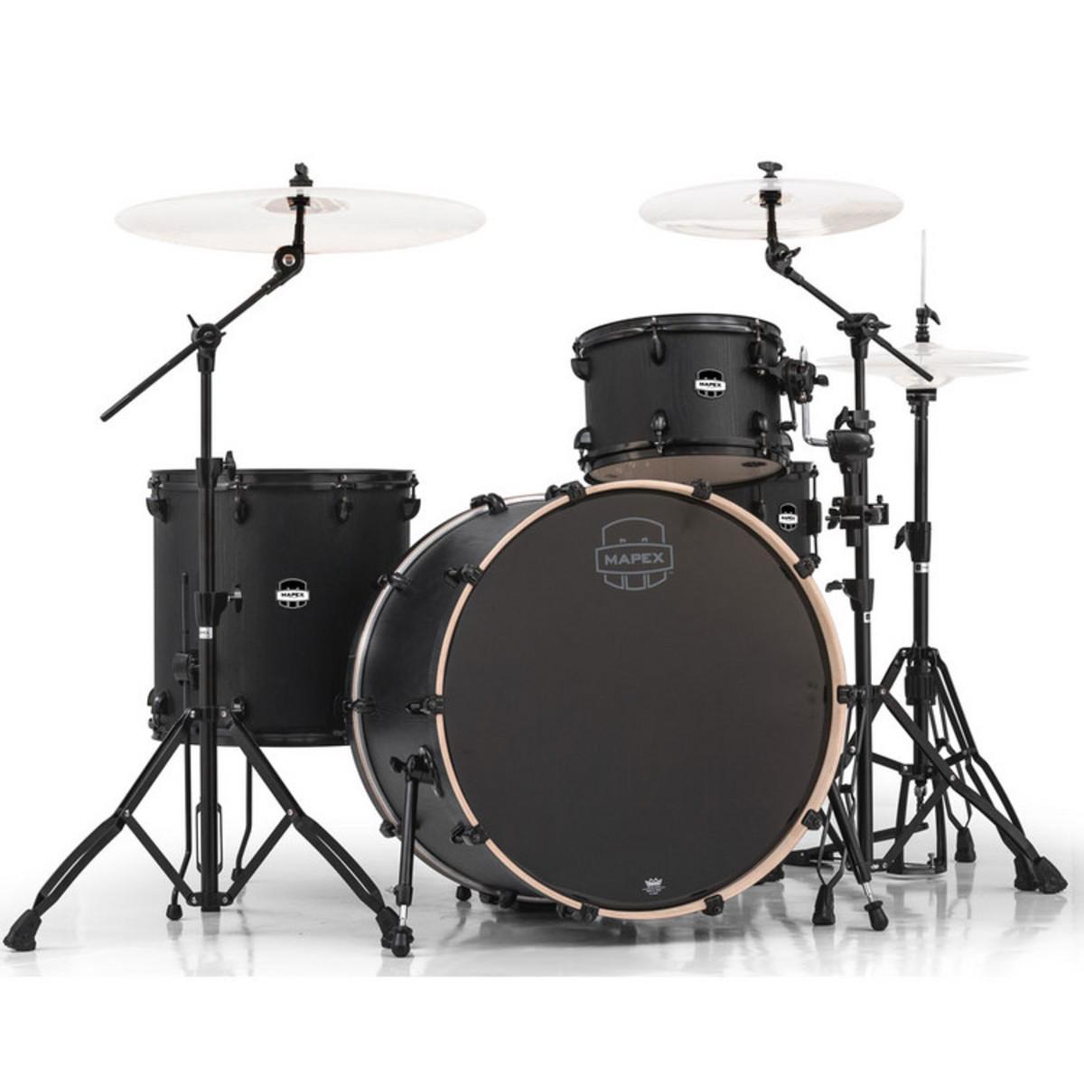 mapex mars 446 big beat 24 39 39 4 piece drum kit nightwood at. Black Bedroom Furniture Sets. Home Design Ideas
