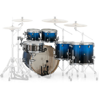 Mapex Armory 628S LA Fusion 22in Shell Pack, Photon Blue
