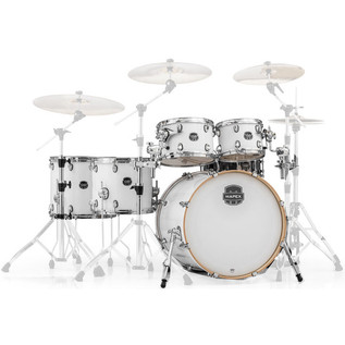 "Mapex Armory 628S LA Fusion 22"" Shell Pack, Arctic White"