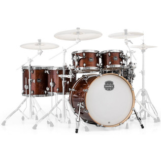 Mapex Armory 628S Rock Fusion 22in Shell Pack, Trans Walnut