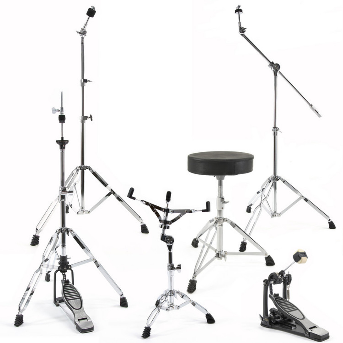 Image of Complete Drum Hardware Pack by Gear4music