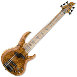 ESP LTD RB-1006BM 6-String Bass Guitar, Honey Natural