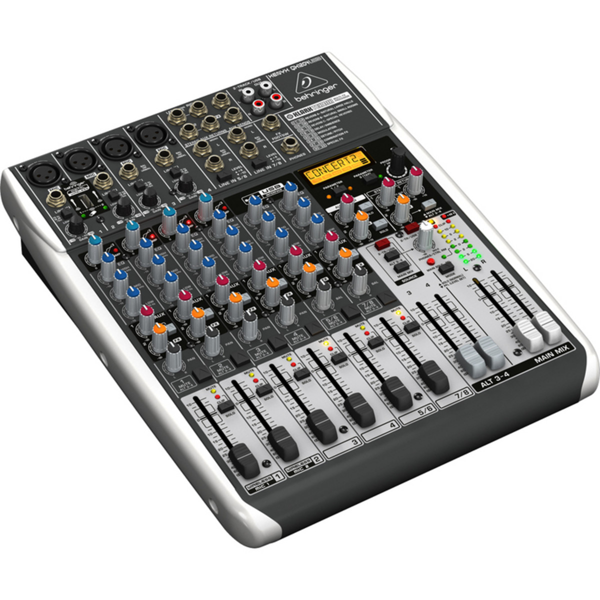 Table de mixage behringer xenyx qx1204usb usb ex demo - Table de mixage professionnelle studio ...