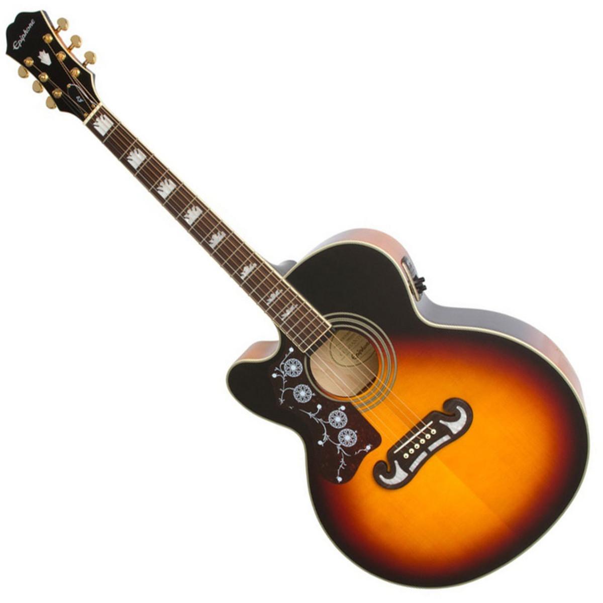 epiphone ltd ed ej 200sce guitare electro acoustique pour. Black Bedroom Furniture Sets. Home Design Ideas