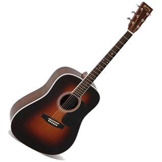 Martin D-35 Dreadnought Acoustic Guitar, Sunburst