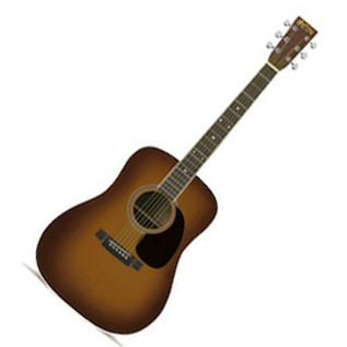 Martin D-35 Dreadnought Acoustic Guitar, Ambertone