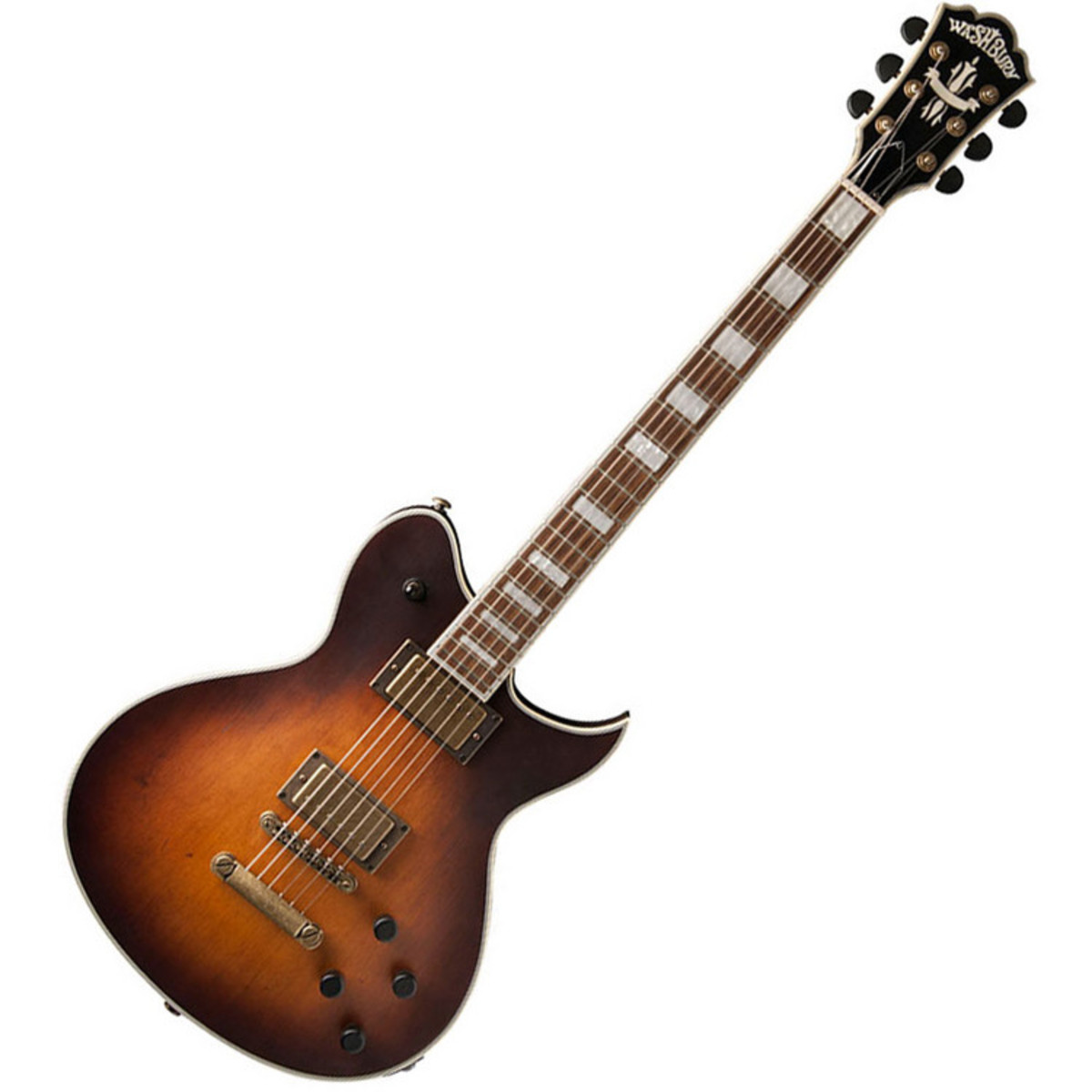 washburn wi60v idol electric guitar vintage sunburst at. Black Bedroom Furniture Sets. Home Design Ideas
