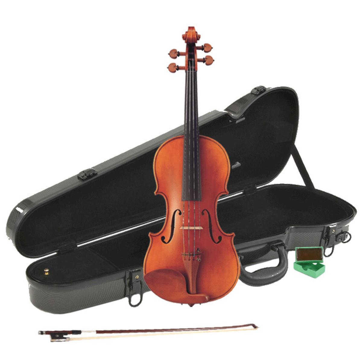 Yamaha v20g intermediate violin 4 4 package deal at for Violin yamaha 4 4