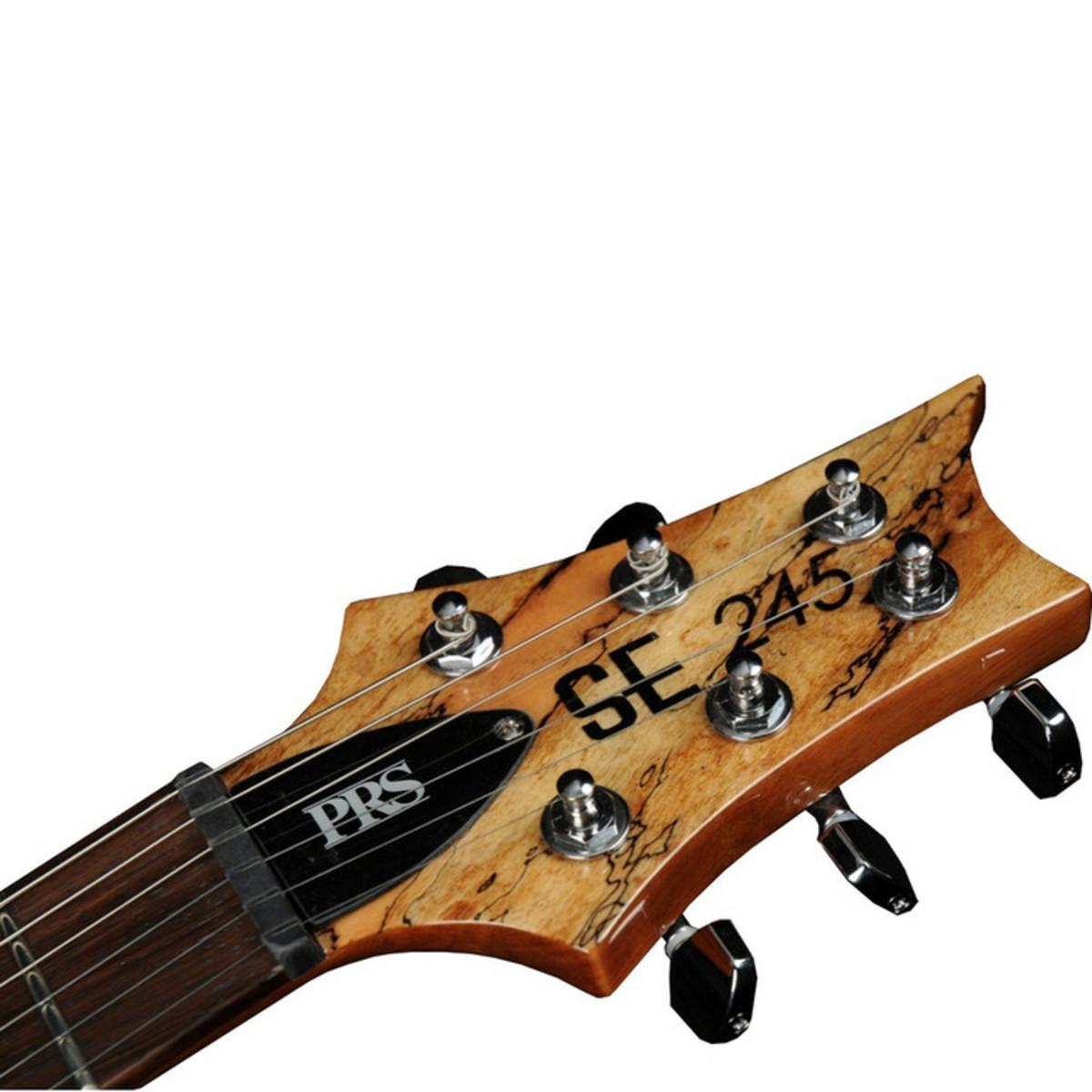 disc prs se singlecut 245 electric guitar natural spalted maple at. Black Bedroom Furniture Sets. Home Design Ideas