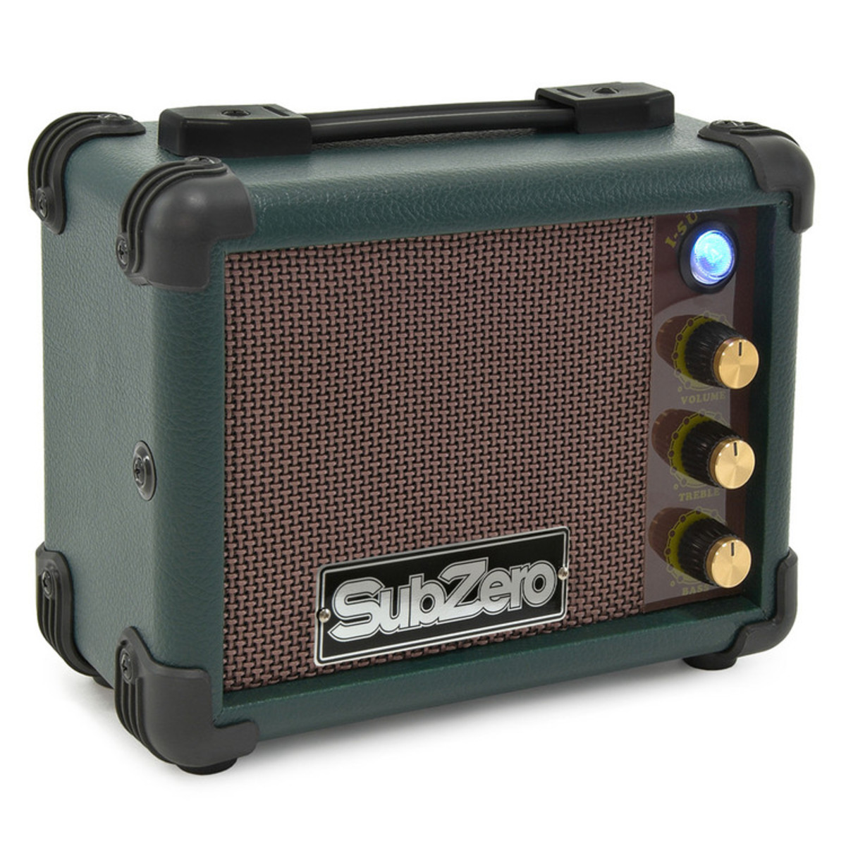 subzero micro ukulele amp vintage green at. Black Bedroom Furniture Sets. Home Design Ideas