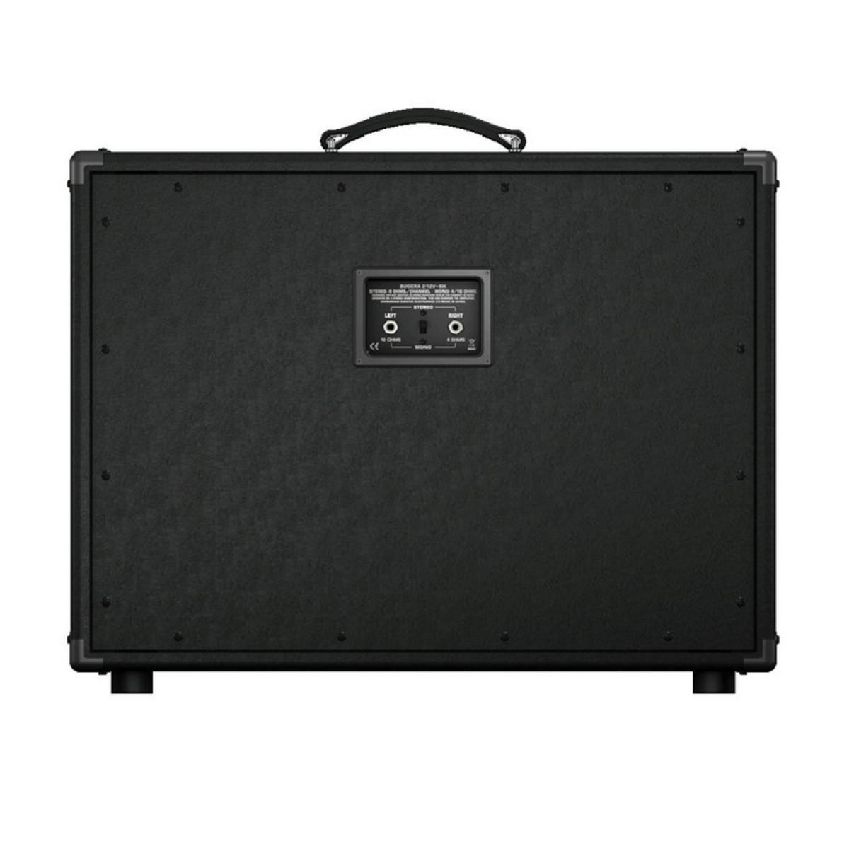 bugera 212v bk vintage 2x12 140w stereo guitar cabinet at. Black Bedroom Furniture Sets. Home Design Ideas