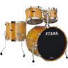 Tama Starclassic Performer B/B 4 Piece Shell Pack, Honey Amber Gold