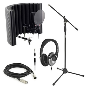 sE Electronics X1 Studio Bundle with Headphones and Mic Stand