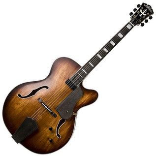 Washburn J600 Jazz Series Electric Guitar, Natural