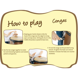 Nino Percussion Small Conga Sets