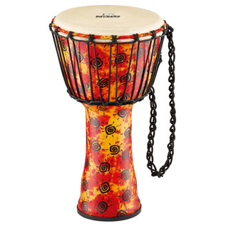 Rope Tuned Synthetic Djembe with Goat Head, Medium