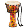 Nino NINO-PDJ1-S-G Rope Tuned Synthetic Djembe with Goat Head, Small