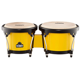 Meinl NINO17Y-BK Percussion ABS Bongos Plus Yellow