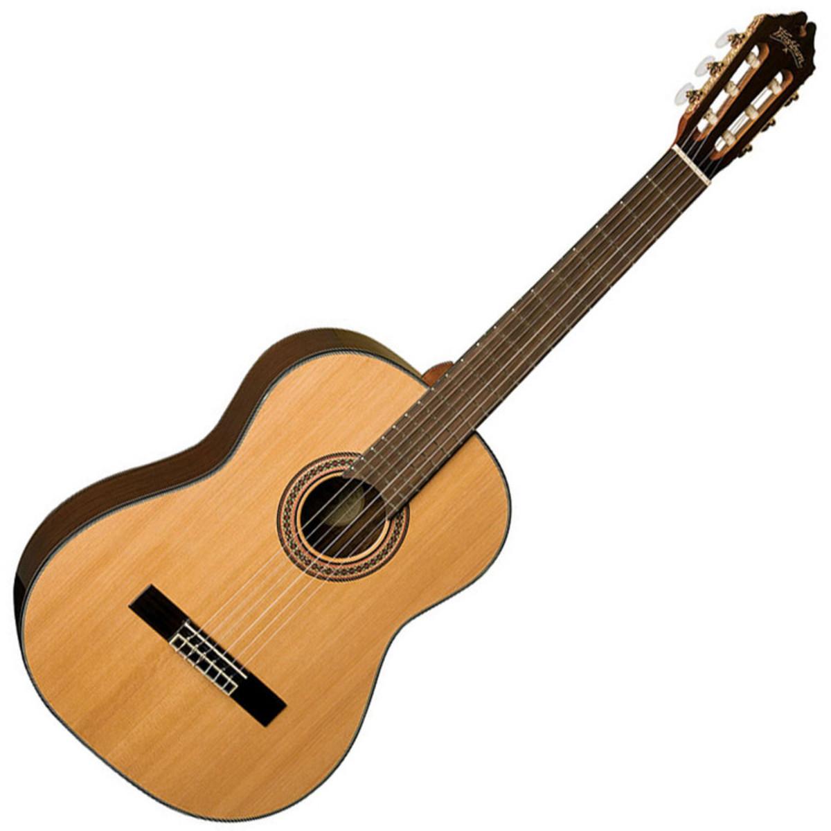 Washburn c80s guitarra cl sica natural en for Guitarras la clasica