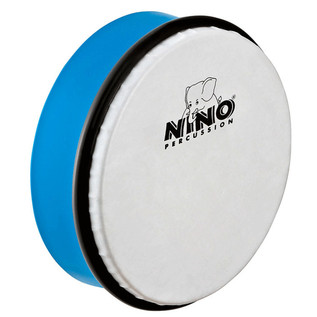 Meinl NINO4SB Percussion 6 inch ABS Hand Drum, Sky-Blue